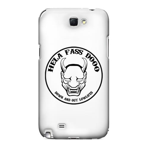 HFD Down & Out Hard Plastic Case for Samsung Galaxy Note 2