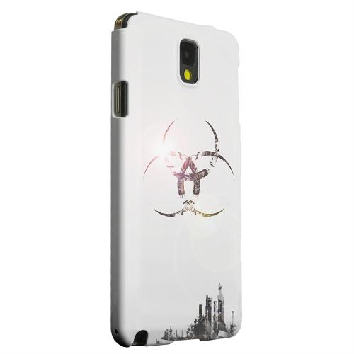 Geeks Designer Line (GDL) Samsung Galaxy Note 3 Matte Hard Back Cover - Ghost Town