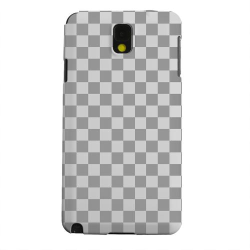 Geeks Designer Line (GDL) Samsung Galaxy Note 3 Matte Hard Back Cover - Gray/ Light Gray