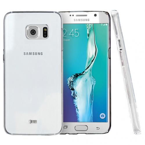 Samsung Galaxy S6 Edge Plus,  [Clear]  Slim & Protective Crystal Glossy Snap-on Hard Polycarbonate Plastic Case Cover