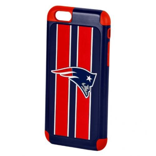 Made for Apple iPhone 6/6S (4.7 inch) NFL Case, Slim Dual layer Hybrid Hard Case on TPU Case [New England Patriots] by NFL
