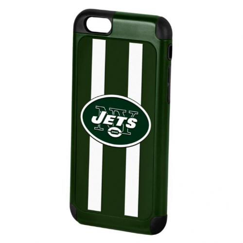 Apple iPhone 6/6S (4.7 inch) NFL Case, Slim Dual layer Hybrid Hard Case on TPU Case [New York Jets]