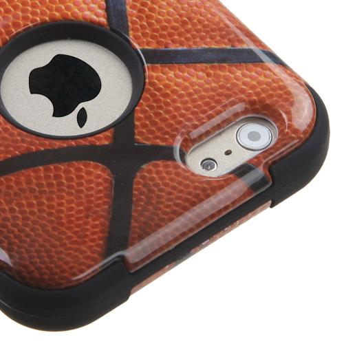 Made for Apple iPhone 6/6S  (4.7 inch) Case, TUFF Hybrid Dual Layer Hard Case on Silicone Skin [Basketball] by Redshield