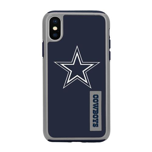 Made for [Apple iPhone X / XS 2018] NFL Case, [Dallas Cowboys] Slim Dual layer Hybrid Hard Case on TPU Case by NFL