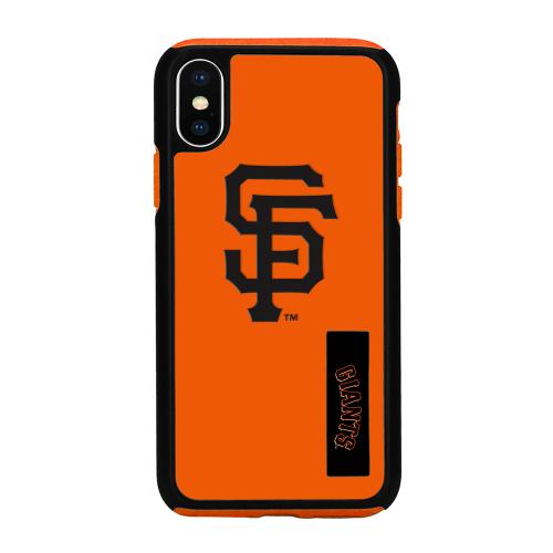 Made for [Apple iPhone X / XS 2018] MLB Case, [San Francisco Giants] Slim Dual layer Hybrid Hard Case on TPU Case by MLB