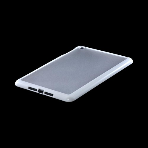 Made for Apple iPad Mini White/ Clear Hard Case w/ Crystal Silicone Border by Redshield