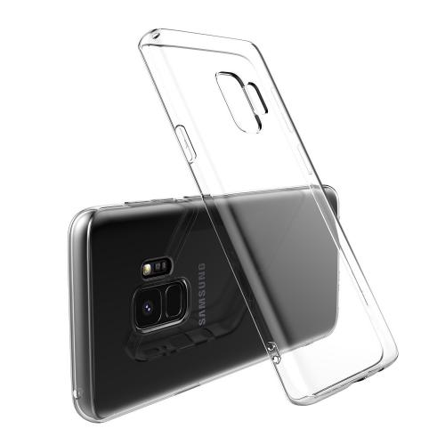 [Samsung Galaxy S9] Redshield Crystal Clear Back Bumper Case with Flexible Border [Will Not Fit S9 PLUS Models] [CLEAR]