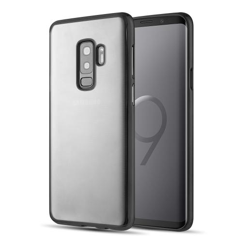 [Samsung Galaxy S9 PLUS] Redshield Transparent TPU Case with Electroplated Frame [Grey]