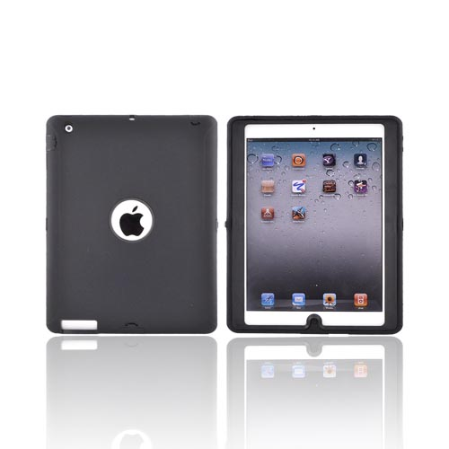Made for Apple iPad 2 Silicone Over Hard Case - Black by Redshield