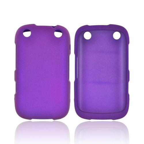 BlackBerry Curve 9310/9320 Rubberized Hard Case - Purple