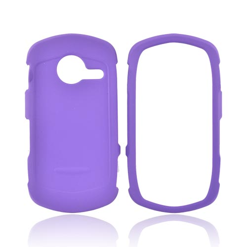 Casio G'zOne Commando C771 Rubberized Hard Case - Purple
