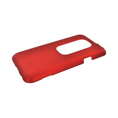HTC EVO 3D Rubberized Hard Case - Orange
