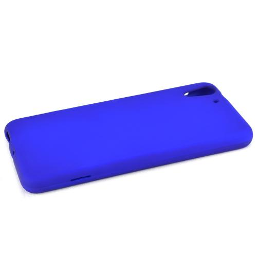HTC Desire Eye Protective Rubberized Hard Case - Anti-Slip Matte Rubber Material [Slim and Perfect Fitting HTC Desire Eye Case] [Blue]