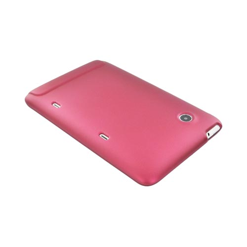 HTC EVO View 4G/ HTC Flyer Rubberized Hard Case - Rose Pink
