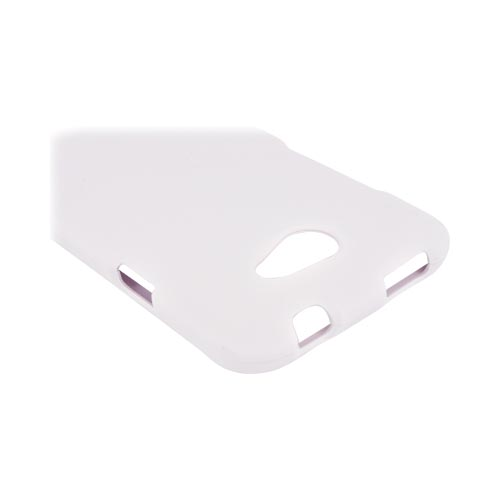 HTC One X Rubberized Hard Case - White