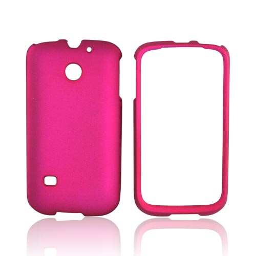 Huawei Ascend 2/ Prism/ Summit M865 Rubberized Hard Case - Rose Pink