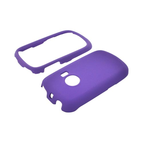Huawei M835 Rubberized Hard Case - Purple