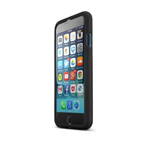 Made for Apple iPhone 6/ 6S Case,  [Black]  Slim Protective Rubberized Matte Finish Snap-on Hard Polycarbonate Plastic Case Cover by Redshield