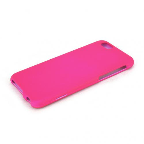 Made for Apple iPhone 6/ 6S Case,  [Hot Pink]  Slim Protective Rubberized Matte Finish Snap-on Hard Polycarbonate Plastic Case Cover by Redshield