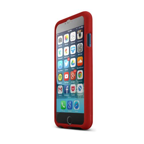 Apple iPhone 6/ 6S Case,  [Red]  Slim & Protective Rubberized Matte Finish Snap-on Hard Polycarbonate Plastic Case Cover