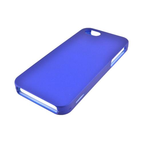 Made for Apple iPhone SE / 5 / 5S Hard Case,  [Blue]  Slim Protective Rubberized Matte Finish Snap-on Hard Polycarbonate Plastic Case Cover by Redshield