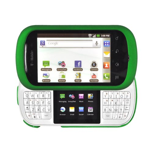 LG Doubleplay Rubberized Hard Case - Green