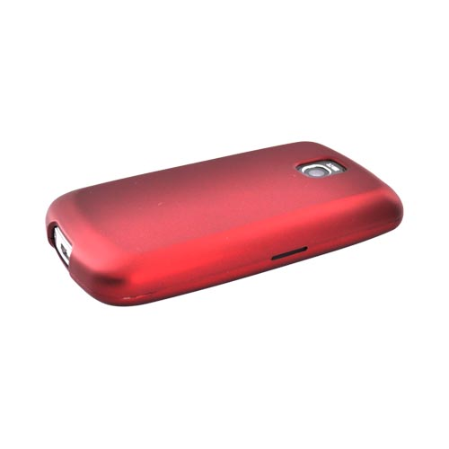 LT Optimus T, LG Thrive Rubberized Hard Case - Red