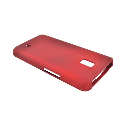 LG Spectrum Rubberized Hard Case - Red