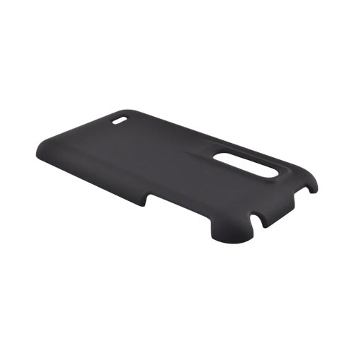 LG Thrill 4G Rubberized Hard Case - Black