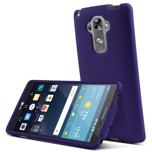 LG G Vista 2 Case, [Purple] Slim & Protective Rubberized Matte Finish Snap-on Hard Polycarbonate Plastic Case Cover