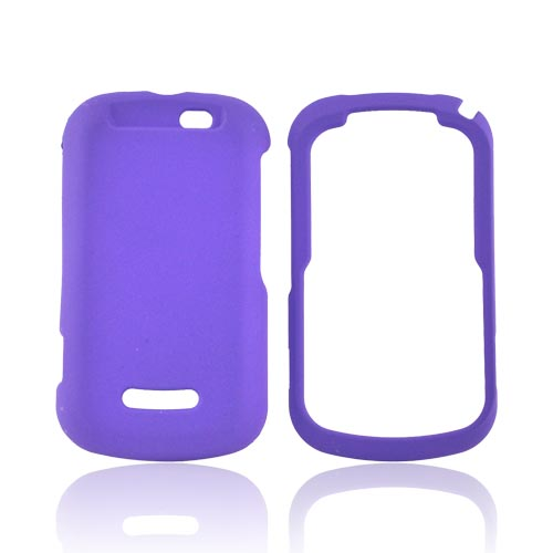 Motorola Clutch+ i475 Rubberized Hard Case - Purple