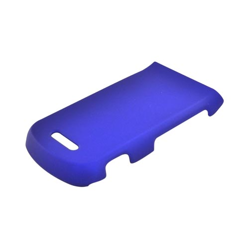 Motorola Bali WX415 Rubberized Hard Case - Blue