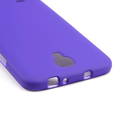 Purple Rubberized Hard Case for Samsung Galaxy Mega 6.3