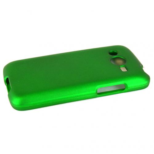 Neon Green Samsung Galaxy Avant Matte Rubberized Hard Case Cover; Perfect fit as Best Coolest Design Plastic Cases