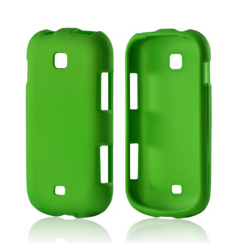 Neon Green Rubberized Hard Case for Samsung Galaxy Stellar