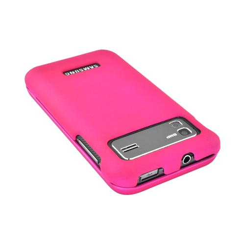 Samsung Captivate Glide i927 Rubberized Hard Case - Hot Pink