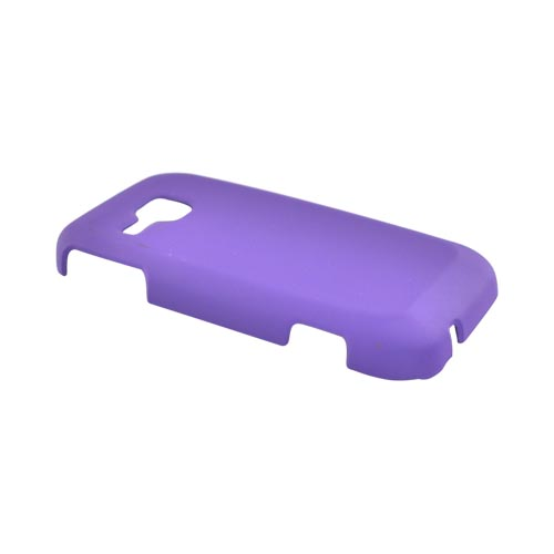 Samsung Galaxy Indulge R910 Rubberized Hard Case - Purple