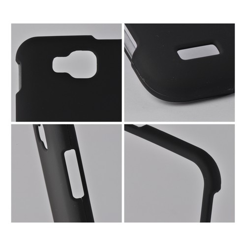 Black Rubberized Hard Case for Samsung ATIV S T899