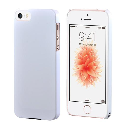 Apple iPhone SE/5/5S Case,  [Pearl Matte]  Premium High Impact Resistant  Ultra Slim Rubberized Hard Case