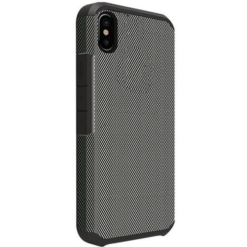 Made for [Apple iPhone X / XS 2018] Shockproof Case, Rubberized Slim Dual layer Hybrid Hard Case on TPU [Carbon Fiber Design] by Redshield