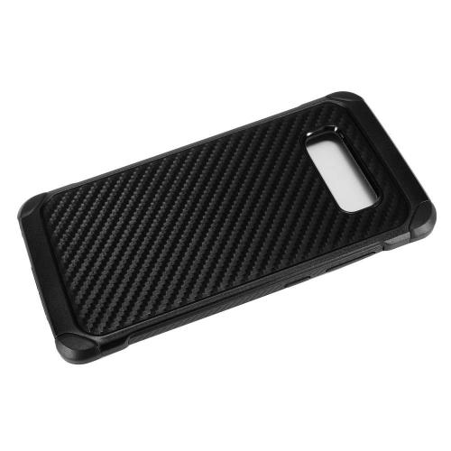 [REDshield] Samsung Galaxy Note 8 Shockproof Case, Rubberized Slim Dual layer Hybrid Hard Case on TPU Case [Carbon Fiber Design]
