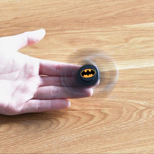 [Fidget Spinner] DC Comics [Batman] Diztracto Spinnerz Three Way Fidget Toy Spinner Toy - Perfect For Boredom, ADD, ADHD, Anxiety