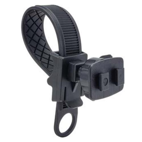 Arkon Black Bicycle / Motorcycle Handlebar Mount with Zip Tie Style Strap and SBH Dual T Head