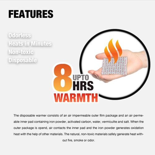 Owlheat [hand Warmer - 120 Pack / 240 Pieces] Disposable Self Heating Hand Warmers - Up To 960 Hours Of Total Warmth!