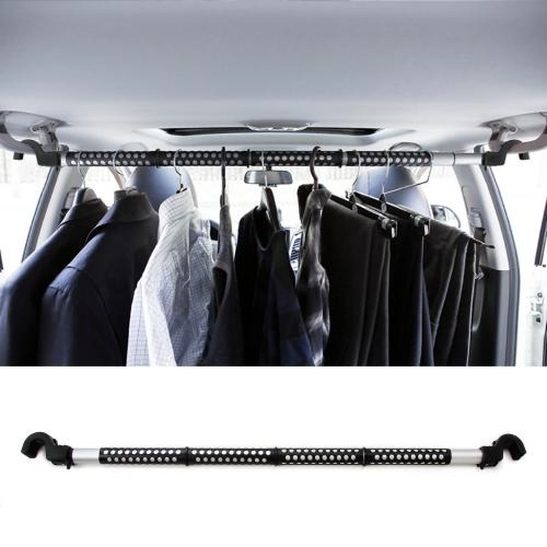 Red Shield Automotive Clothes Hanger Bar Hook To Hang Portable Expandable 39 67 Heavy Duty Clothing Organizer Rod Rack