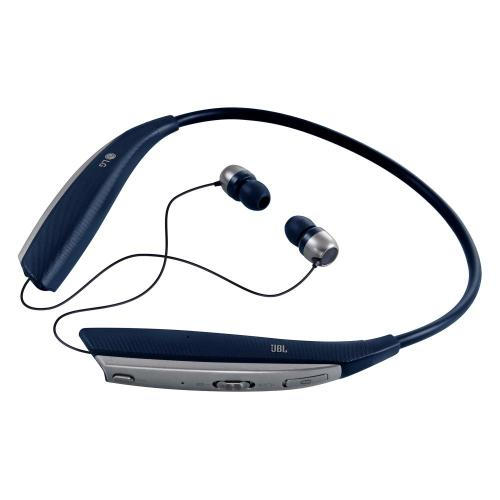 [LG] TONE ULTRA (HBS-820) Premium Wireless Stereo Bluetooth Headset w/ Retractable Ear Buds [Navy Blue]