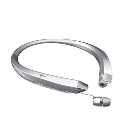 [LG] TONE INFINIM (HBS-910) Wireless Stereo Bluetooth Headset w/ Retractable Ear Buds [Silver]