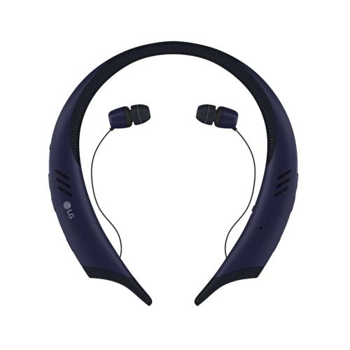 [LG] TONE Active+ (HBS-A100) Wireless Stereo Bluetooth Sweat Resistant Headset [Blue/ Gray]