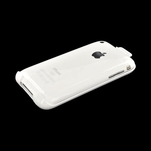 Apple iPhone Premium holster w/ belt clip - White