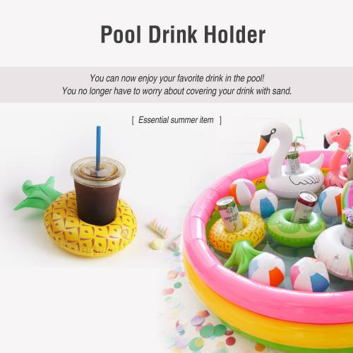 Coconut Tree Inflatable Pool Float and Pool Toy Drink Holder